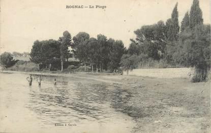 """CPA FRANCE 13 """" Rognac, La plage"""""""