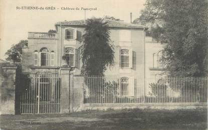 """CPA FRANCE 13 """"St Etienne du Grès, Château de Pomeyrol"""""""