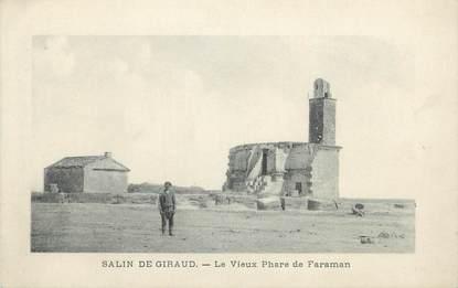 """CPA FRANCE 13 """" Salin de Giraud, Le vieux phare de Faraman"""" / PHARE"""
