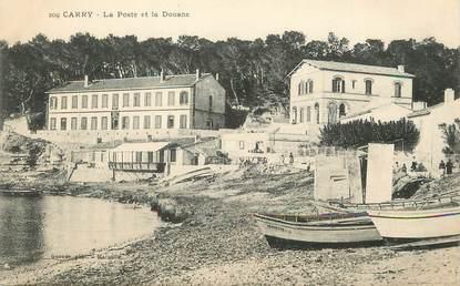 """/ CPA FRANCE FRANCE 13 """"Carry Le Rouet, la poste et la douane"""""""