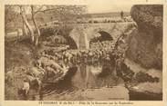 """13 Bouch Du Rhone CPA FRANCE 13 """" St Chamas, Pont de la Roquette sur la Touloubre"""""""