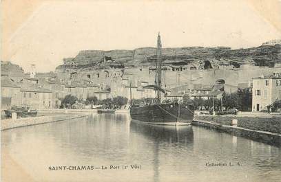 "CPA FRANCE 13 "" St Chamas, Le port"""