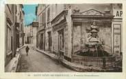 """13 Bouch Du Rhone CPA FRANCE 13 """" St Rémy de Provence, Fontaine Nostradamus"""""""