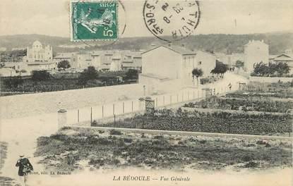 """/ CPA FRANCE FRANCE 13 """"La Bédoule, vue générale"""""""