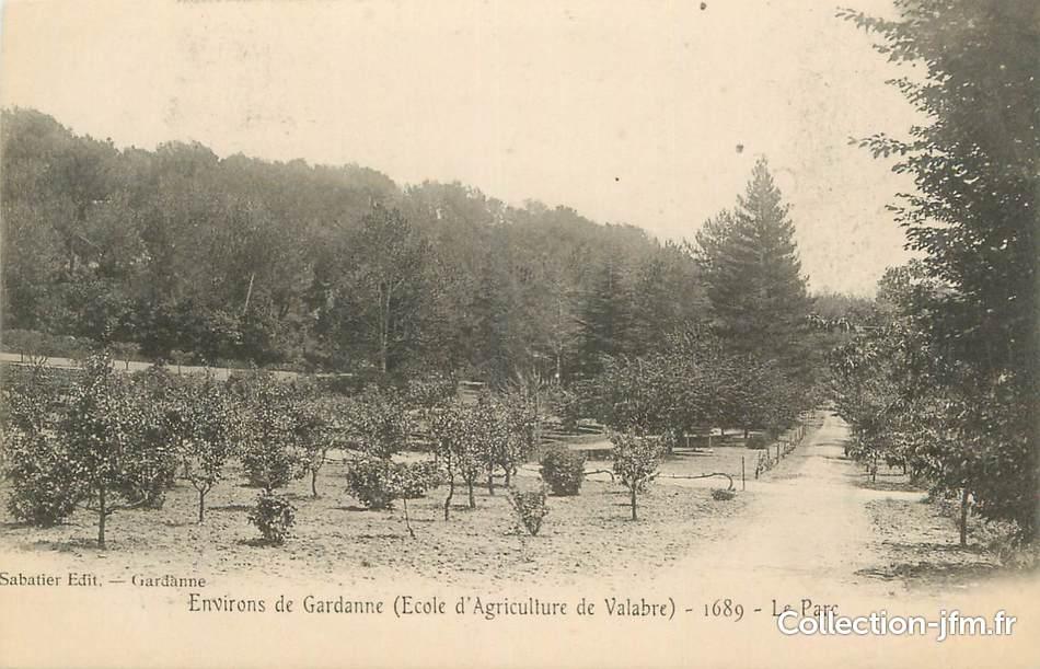 Cpa france 13 environs de gardanne le parc 13 for Bouches du rhone 13
