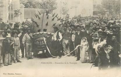 "CPA FRANCE 13 "" Tarascon, Procession de la Tarasque"""