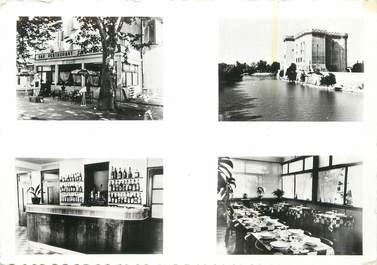 "CPSM FRANCE 13 "" Tarascon, Hôtel Restaurant du Marché Boulevard Itam"""