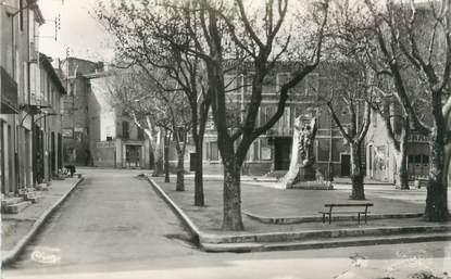 """CPSM FRANCE 13 """" Trets, Place de la Mairie"""""""