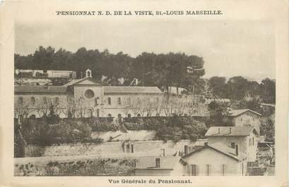 """CPA FRANCE 13 """" Marseille, Pensionnat de la Viste"""""""