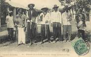 "Afrique CPA GUINEE ""Kankan, groupe de scieurs de long"""