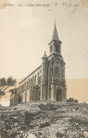 """CPA FRANCE 13 """" Marseille, Le Cabot, L'église St Joseph"""""""