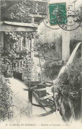 """CPA FRANCE 73 """" Grésy sur Aix, Gorges du Sierroz, moulins et cascades"""""""