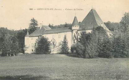 """CPA FRANCE 73 """" Grésy sur Aix, Le Château des Loches"""""""
