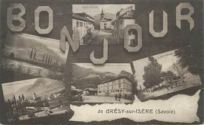 """CPA FRANCE 73 """" Grésy sur Isère, Vues"""""""