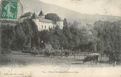 """CPA FRANCE 73 """" Ste Hélène sur Isère, Le château"""""""