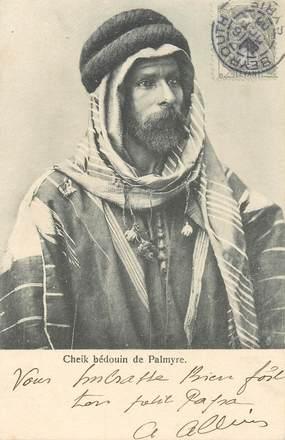 "CPA SYRIE ""Cheik bédouin de Palmyre"""
