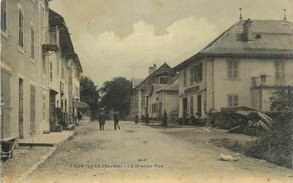 """CPA FRANCE 73 """" Frontenex, La grande rue"""""""