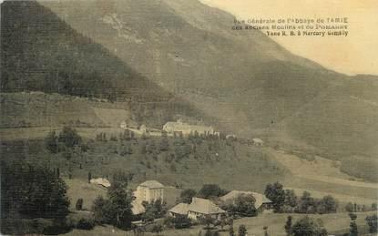 """CPA FRANCE 73 """" Tamié, Vue générale de l'Abbaye"""""""