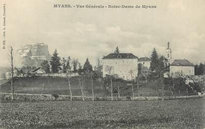 """CPA FRANCE 73 """" Myans, Vue générale de Notre Dame de Myans"""""""