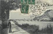 """73 Savoie CPA FRANCE 73 """" Montmélian, Vue prise de la Rive Gauche de l'Isère"""""""