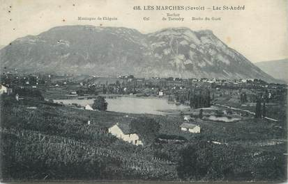 "CPA FRANCE 73 "" Les Marches, Le Lac St André"""