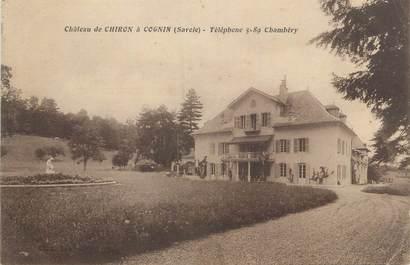 """CPA FRANCE 73 """" Cognin, Château de Chiron"""""""