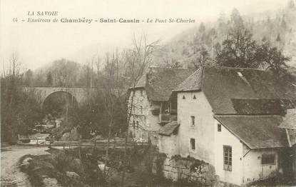 """CPA FRANCE 73 """"St Cassin, Le Pont St Charles"""""""