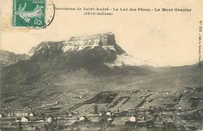 """CPA FRANCE 73 """"St André, Le Lac des Pères et le Mont Granier"""""""
