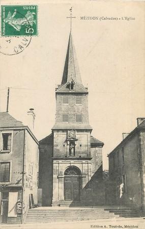 """/ CPA FRANCE 14 """"Mézidon, l'église"""""""