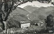 """73 Savoie CPSM FRANCE 73 """" Les Avanchers, Le Centre Croix de Fer'"""
