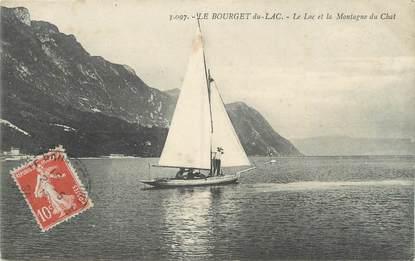 """CPA FRANCE 73 """" Le Bourget du Lac, Le lac et la Montagne du Chat"""""""