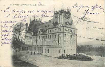 """CPA FRANCE 73 """" La Motte Servolex, Le château"""""""