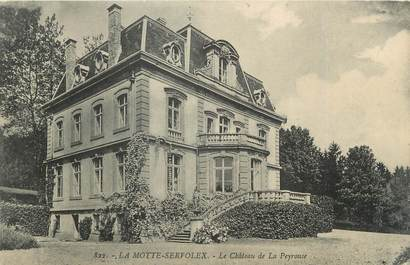 """CPA FRANCE 73 """" La Motte Servolex, Le château de la Peyrouse"""""""