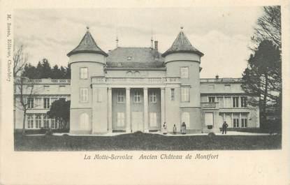 """CPA FRANCE 73 """" La Motte Servolex, Ancien Château de Montfort"""""""