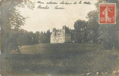 "CARTE PHOTO FRANCE 73 "" La Motte Servolex, Le château"""