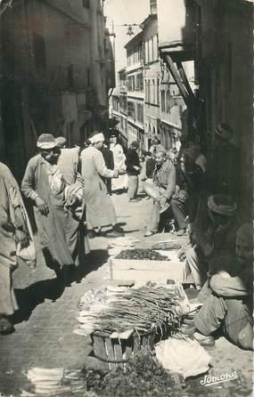 """CPSM ALGERIE """"Alger, le marchand de légumes"""""""