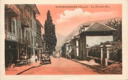 "CPA FRANCE 73 "" Aigueblanche, La Grande Rue"""