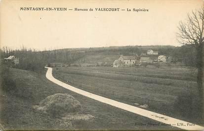 "CPA FRANCE 60 ""Montagny en Vexin, Hameau de Valecourt"""