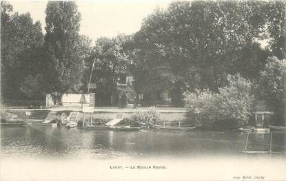 """CPA FRANCE 77 """" Lagny, Le Moulin Rouge"""""""