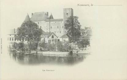 """CPA FRANCE 77 """" Nemours, Le Château"""""""