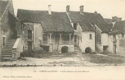 "CPA FRANCE 77 "" Samois sur Seine, Vieilles maisons du Coin Musard"""