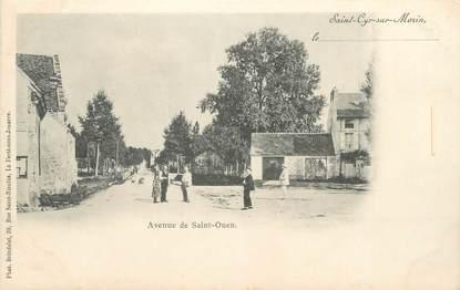 """CPA FRANCE 77 """" St Cyr sur Morin, Avenue de St Ouen"""""""