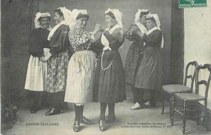 """CPA FRANCE 85 """" Les Sables d'Olonne, Danses Sablaises"""" / SABLAISES"""
