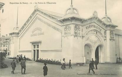 """CPA FRANCE 54 """" Nancy, Le Palais de l'Electricité"""" / EXPOSITION de 1909"""