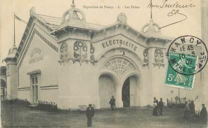 """CPA FRANCE 54 """" Nancy, Les Palais"""" / EXPOSITION de 1909"""