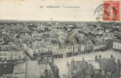 """CPA FRANCE 45 """" Pithiviers, Vue panoramique"""""""