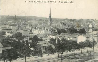 """CPA FRANCE 69 """" Villefranche sur Saône, Vue générale"""""""