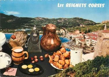 """CPSM FRANCE 20 """" Corse, Les beignets Corses"""" / FOLKLORE"""