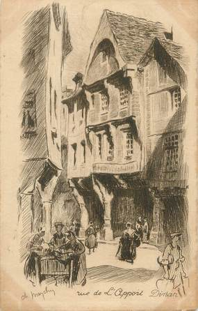"CPA FRANCE 22 "" Dinan, Rue de l'Appoint"""
