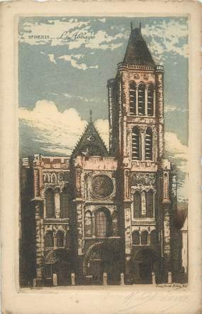 "CPA FRANCE 93 "" St Denis, L'Abbaye"""